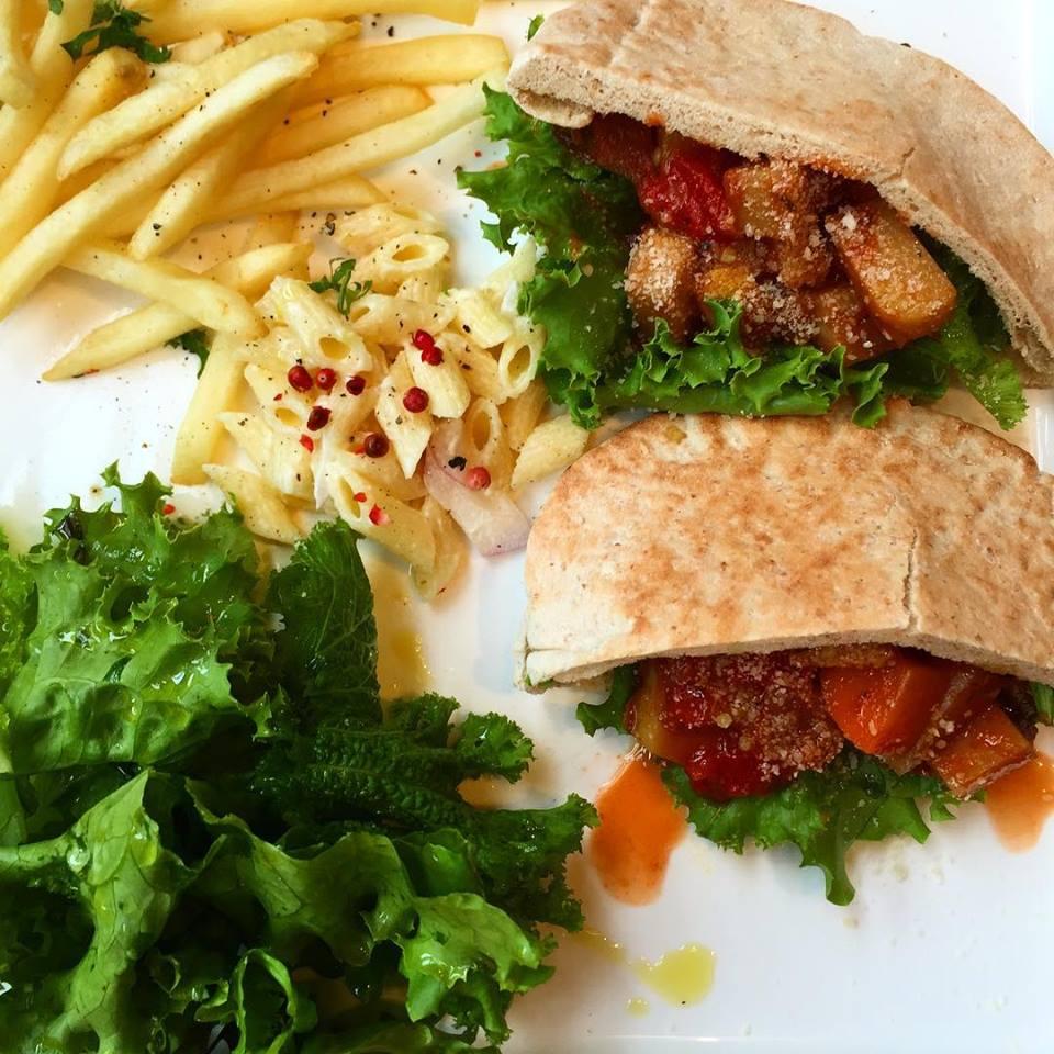 那須野菜のラタトゥイユのピタサンド